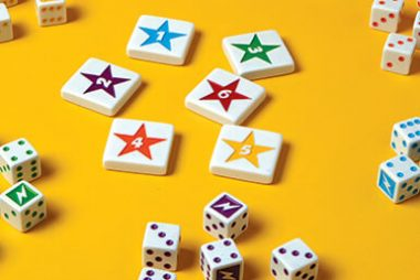 Dice rolling game - Flash! by Blue Orange Games