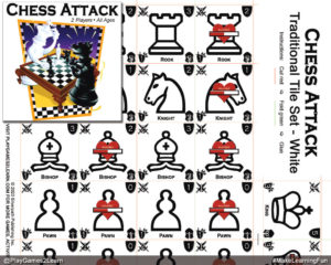 PlayGames2Learn.com - Chess Attack - Traditional Tilesets