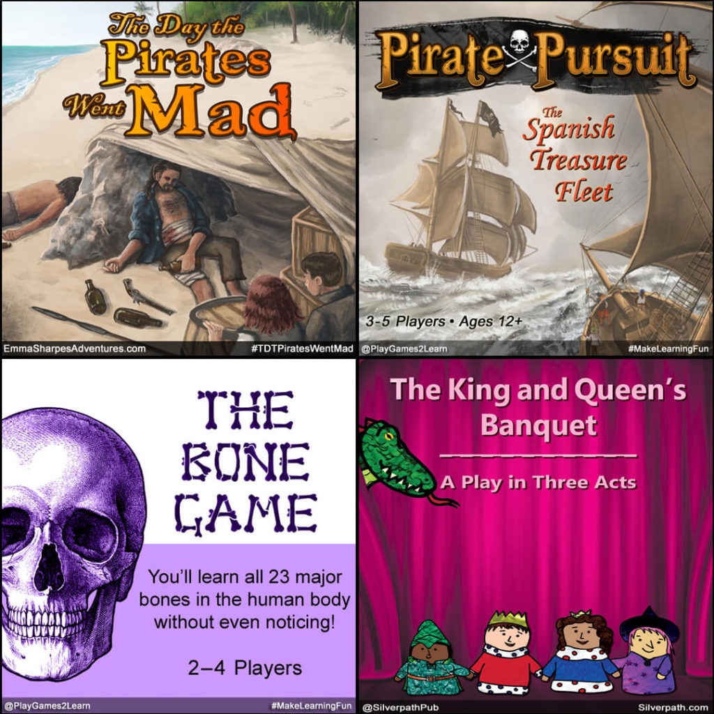 Playgames2Learn.com - Four Big Projects
