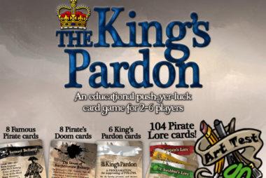 PlayGames2Learn.com - #PiratePursuitTBG - The King's Pardon