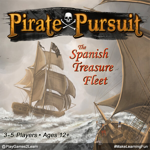 PlayGames2Learn.com - Pirate Pursuit: The Spanish Treasure Fleet