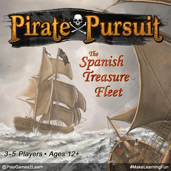 PlayGames2Learn.com: Pirate Pursuit - The Spanish Treasure Fleet