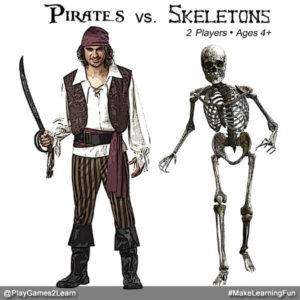 PlayGames2Learn.com - Pirates vs. Skeletons