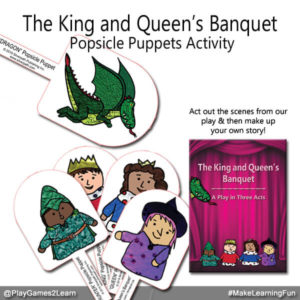 PlayGames2Learn.com - Popsicle Puppets
