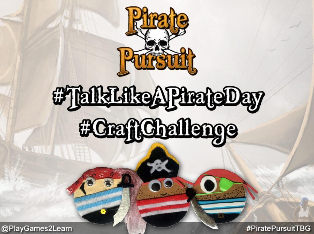 PlayGames2Learn.com - #TalkLikeAPirateDay #CraftChallenge